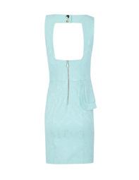 Vestido peplum asimetrico jacquard 02
